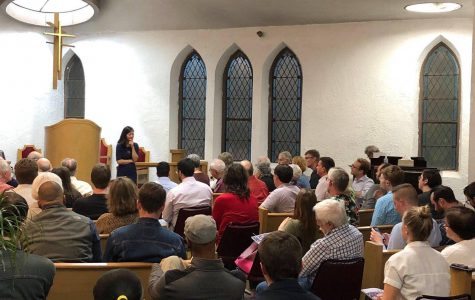 The first of many listening sessions for Wu's plan to abolish the BPDA took place on Oct. 7 in East Boston. Photo courtesy of Wu's Facebook page.