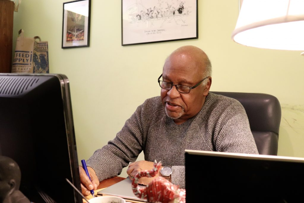 Horace Small has worked tirelessly for the political, social and economic empowerment of local communities for over 40 years. Photo by Eileen O'Grady.