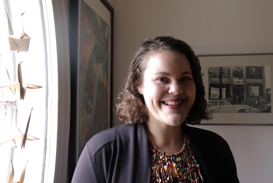 Jessye Kass, director of Cambridge Women's Center. Photo by Eileen O'Grady.