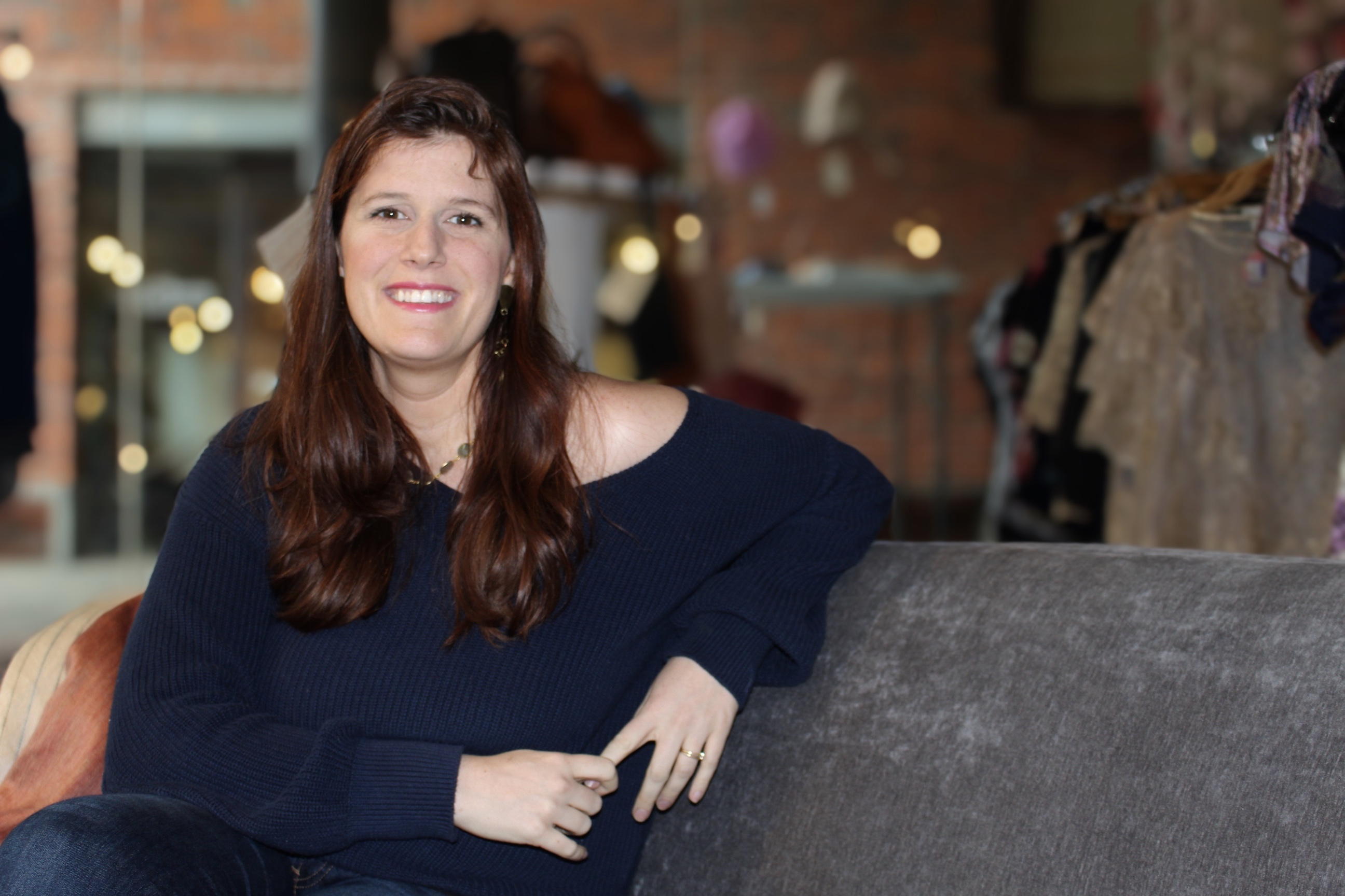 Mary Savoca, co-founder of sustainable fashion boutique, Ash and Rose. Photo by Alexa Gagosz.