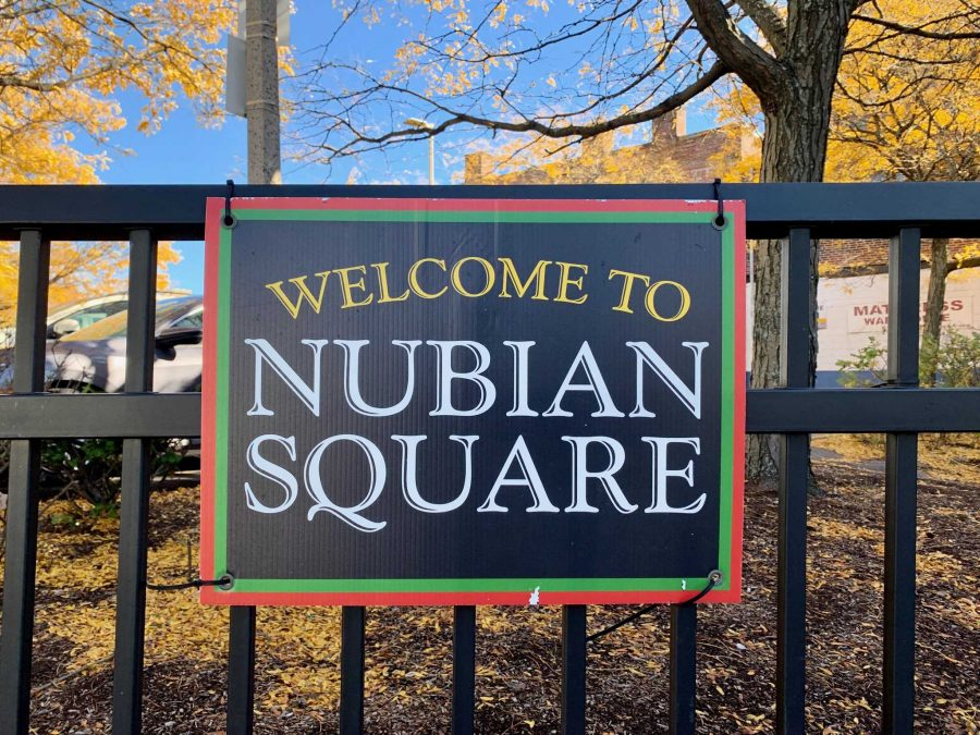 Signs already proclaim Dudley Square