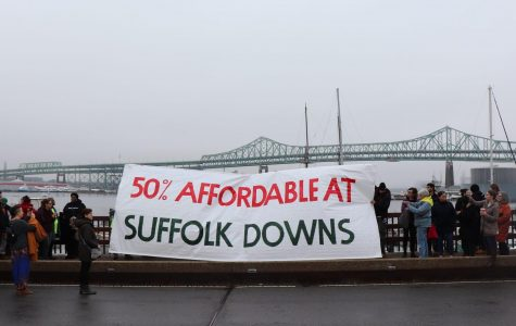 Protestors march for affordable housing at Suffolk Downs