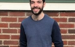 Nick Rabb, Ph.D. student at Tufts University and leader of Sunrise Boston's education team.