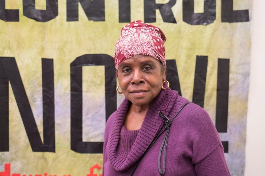 Judy Burnette, Jamaica Plain resident, organizer and activist with housing rights group, City Life/Vida Urbana.