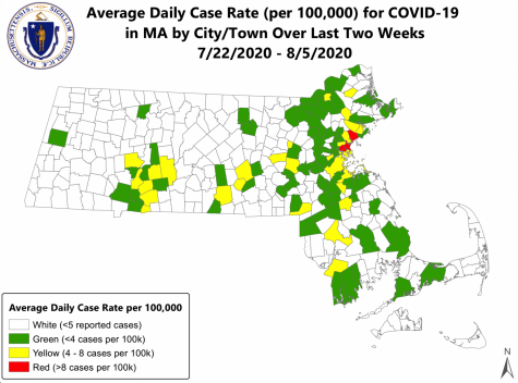 New state map of high, moderate, and low risk communities for COVID-19