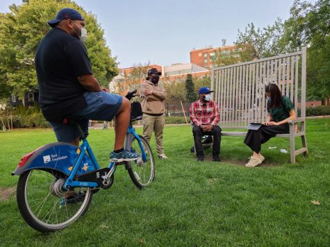 Cambridge Bike Give Back collects, fixes and gives away bikes for those in need