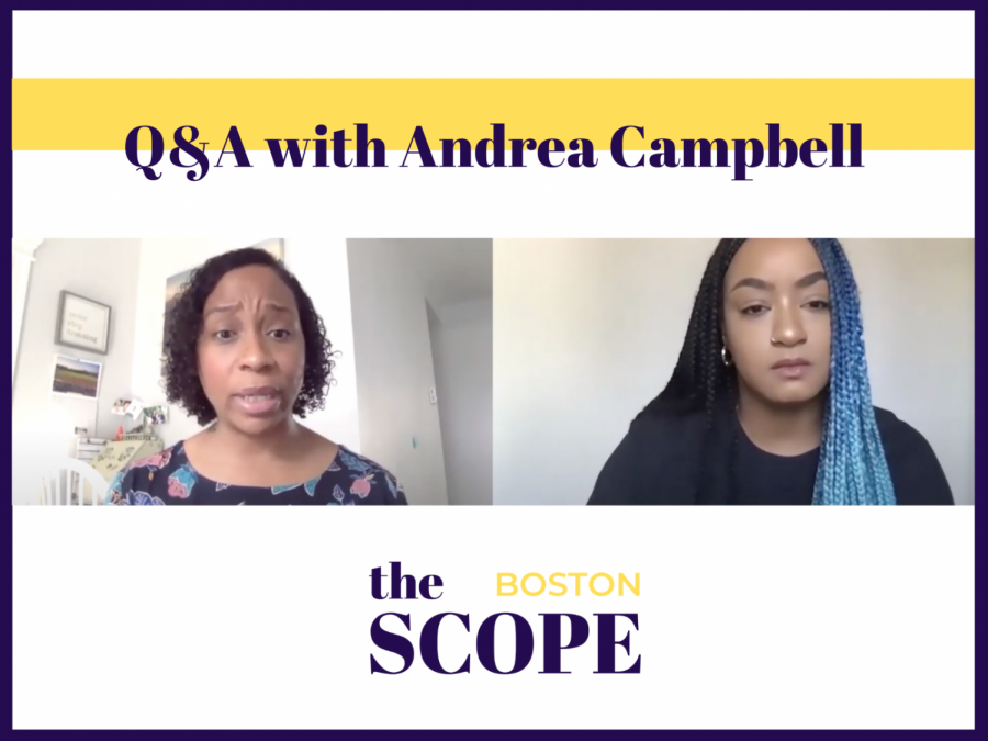 Transcription of Andrea Campbell's Interview with the Scope