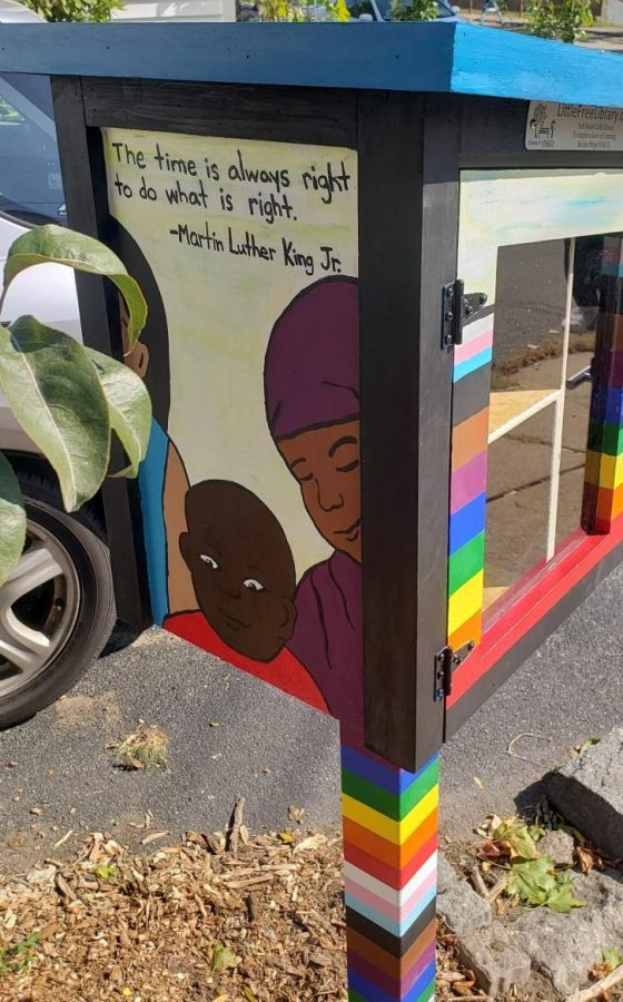 The Quinn Way anti-racist library by Fagone in West Roxbury