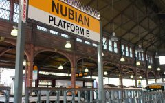 Nubian station, formerly Dudley station in Roxbury.