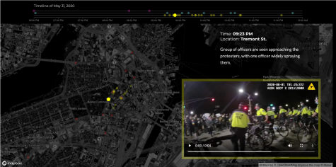 Boston Police body cam footage shows confrontations during the protests following the death of George Floyd