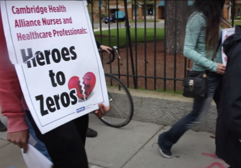 Nurses call out lack of improvements to staffing, pay and benefits at three Cambridge Health Alliance hospitals